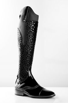 De Niro Long Riding Boots Plain (Model Ramses 2)