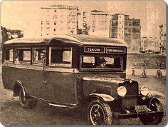 Taksim Yenimahalle otobüsü- 1930 lar