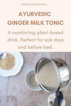Ginger Milk Tonic