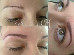 Nature Hairstroke eyebrow by Meli  Luxury permanent makeup  Hungary  Www.glamourart.com