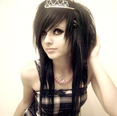 long dark hair with layers and bangs - Google Search