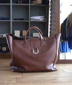 "LILY1ST VINTAGE 1960'S VINTAGE FRENCH FAKE LEATHER BAG ""HUGE SIZE"" http://floraison.shop-pro.jp/?pid=68830789"