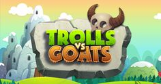 Trolls vs Goats - Puzzle game design by Fgfactory, via Behance
