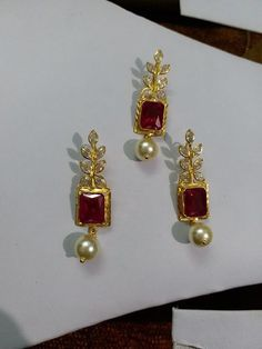 Gold Jewelry From Egypt Quartz Jewelry, Coral Jewelry, Star Jewelry, Trendy Jewelry, Simple Jewelry, Beaded Jewelry, Gold Jhumka Earrings, Pink Earrings, Personalized Gold Necklace