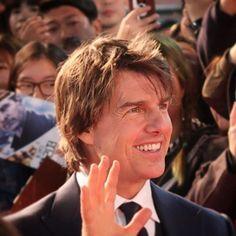 Premiere Seoul #tomcruise#jackreachernevergoback #jackreacher#cruiser#forever#smile#hallo#hair#style#actor #love #handsome #man #amazing #