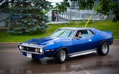 1971-1972 AMC Javelin-AMX by mark.mitchell.brown, via Flickr