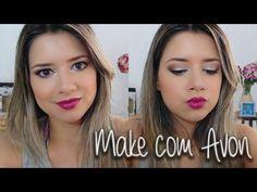Maquiagem com produtos Avon - Thali Mallmann - YouTube