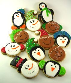 Cute Faces of Christmas.......Penguins too!