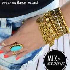 http://www.versatilacessorios.com.br/ #pulseiras #anel #mixdeanéis #mixdepulseiras