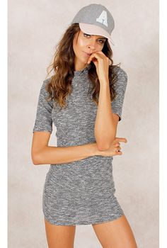 Vestido Stacey Grafite Fashion Closet - fashioncloset-mobile