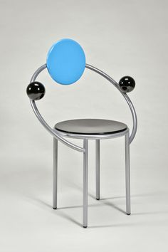 the modern archive - First Chair by Michele De Lucchi for Memphis
