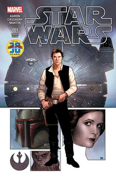 Marvel Star Wars #1, cover variant by Frank Cho