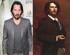 29 Celebrities and their eerie lookalikes from the past.