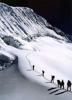 Island Peak, Nepal. A month long climbing adventure...this looks exhilarating to say the least