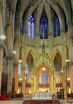 Alter at St. Patricks Cathedral