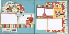 Summer Paradise Two Page Layout Kit