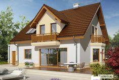 Mati III G1 Mocca to dom zaprojektowany dla rodziny, która ceni szlachetną elegancję i sprawdzone rozwiązania funkcjonalne. Klasyczna forma, wzbogacona o atrakcyjne lukarny doskonale prezentuje się w czekoladowo-waniliowej szacie, dodatkowo ozdobionej przez drewniane detale. We wnętrzu...