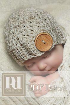 Adorable Newborn Photo Prop Crochet Pattern