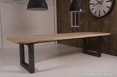 Marktplaats.nl > Boomstam tafel gemaakt van eiken, in ieder gewenste maat. - Huis en Inrichting - Tafels   Eettafels