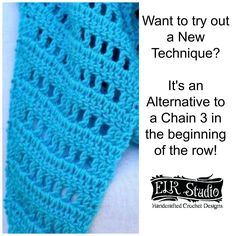 As a designer, you are always trying to come up with different techniques and easier ways of crocheting the projects while keeping a smooth even look to the project. Most of you know that when a pattern tells you to chain 3 at the beginning of a row that it typically stands for the first …
