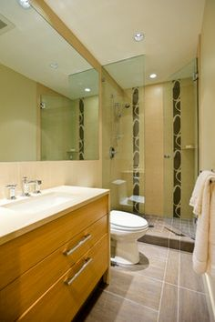 Zen Small Bathroom Designs