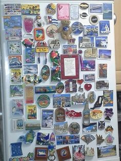 Some of our travel fridge magnets!