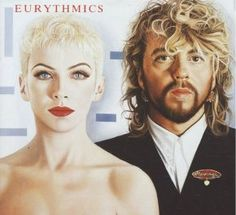 """Eurythmics - one of the best 80s bands. Best Album """"Be Yourself Tonight"""" - classic!"""