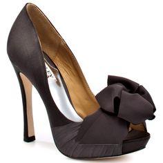 #Bagdley Mischka #heels #peep toe #womens fashion