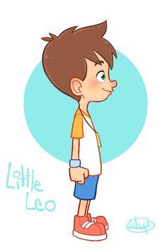 Little Leo Turn Around GIF by LuigiL