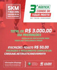 Rádio Web Mix Esporte&Som: Nova Prata: Vem aí a Terceira Rústica Cidade de No...