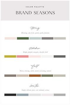 Learn How to Create Your Brand Color Palette using Color Theory and understanding how to use them within your brand.