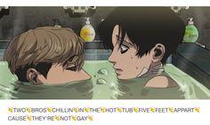 See more 'Two Bros Chillin' In A Hot Tub' images on Know Your Meme! Stalking Funny, Sangwoo Killing Stalking, Otaku, Killing Me Softly, Fandom, Cute Anime Couples, Fujoshi, Webtoon, Manga Anime