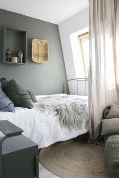 decordemon: A Dutch house with a blend of vintage and industrial decoration Luxury Homes Interior, Home Interior, Interior Colors, Interior Modern, Interior Design, Bedroom Wall, Bedroom Decor, Bedroom Beach, Diy Furniture