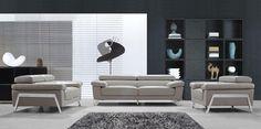 Stylish Design Furniture - Divani Casa Encore Modern Grey Leather Sofa Set, $3,280.00 (http://www.stylishdesignfurniture.com/products/divani-casa-encore-modern-grey-leather-sofa-set.html)