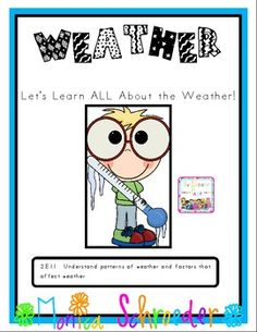 Weather: Let's Learn All About Weather!  $5.99