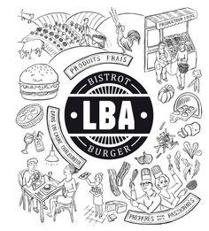 La Burger Attitude, à Rennes (mar-sam: 12h-13h30, 19h30-22h30).