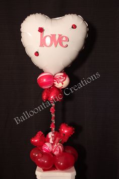 Express your love all year around with our one of a kind Balloon Centerpieces...