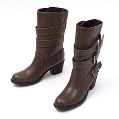 itpo Triple Belt Half Boots www.itpo.co.kr