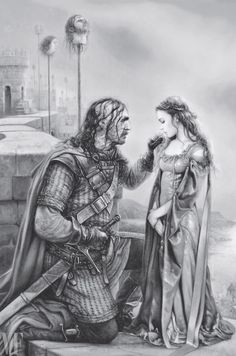 The Hound & Sansa, By Arantza Sestayo/Penguin... | Game of Thrones Fan Art