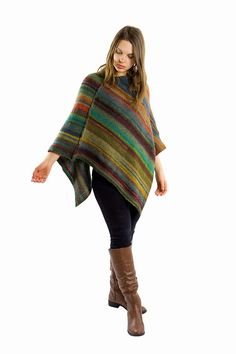 Excited to share the latest addition to my #etsy shop: Sweater poncho outfit | Crochet poncho | Poncho sweater for women, Knitted poncho, Green poncho women, Boho poncho, Wool poncho, Knit poncho http://etsy.me/2tsLBV1 #clothing #women #green #poncho #outfit