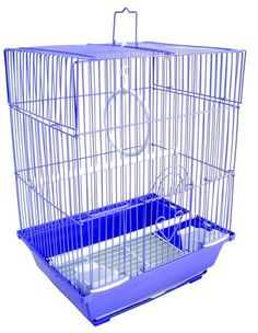Flat Top Medium Parakeet Cage Colors Vary New | eBay