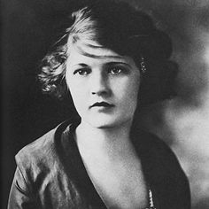 Zelda Sayre Fitzgerald, 1900 - 1948. Turns out she is my 5th cousin 5x removed - the things you learn when you do your family geneaology...