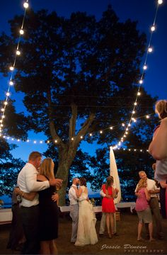 From Kelly & Kevin Lambert's wedding on Peaks Island on 08/14/15. Photo by Jessie Dineen. Maine Wedding DJ Dave Dionne. #maineweddingdj