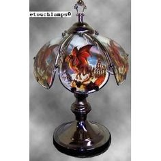 14 Inch Dragon Touch Lamp II,Price: $33.47