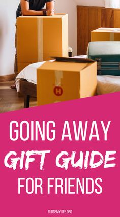 Find the best going away gifts for friend on this going away gift guide to help you find the perfect presents for friends and family who are moving away. Click here to check out this great going away gift guide for friends to find the 25 best going away gifts for friends.