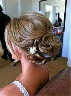 Image result for short hair updo for wedding