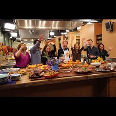 Happy Thanksgiving from everyone here at Food Network. #ThanksgivingLive - @foodnetwork- #webstagram  @Food Network