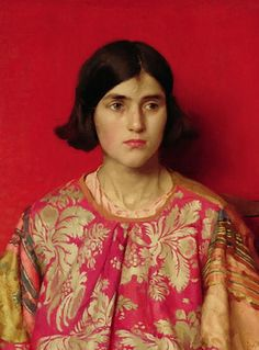Thomas Cooper Gotch The Exile - Heavy is the Price I Paid for Love print for sale. Shop for Thomas Cooper Gotch The Exile - Heavy is the Price I Paid for Love painting and frame at discount price, ships in 24 hours. Cheap price prints end soon. L'art Du Portrait, Female Portrait, Female Art, Woman Portrait, Painting People, Woman Painting, Figure Painting, Painting Art, Pre Raphaelite