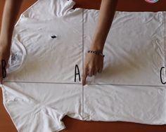 Descubre Cómo Puedes Doblar Tu Ropa En Sólo 2 Segundos Ropa Doblar La Ropa Doblar Camiseta