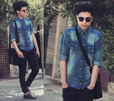 I have no style icon, I am inspired by everything   (by Ayoub Mani) http://lookbook.nu/look/3358443-I-have-no-style-icon-I-am-inspired-by-everything